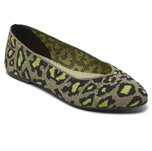 💜 NWT Skechers Cleo- Leopard casual Ballet Flats